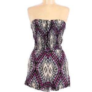 Xhilaration strapless size medium romper.